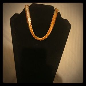 Jewelry - Vintage Copper and Wood Choker